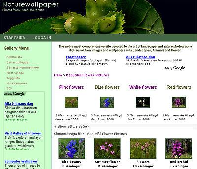 Nya fotosidan naturewallpaper.se