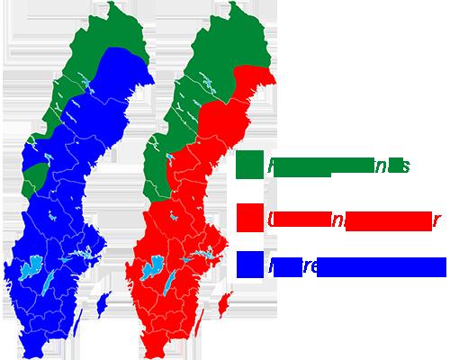 Utbredningskarta Svenska fjärilar