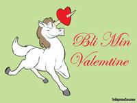 Bli mine Valentine