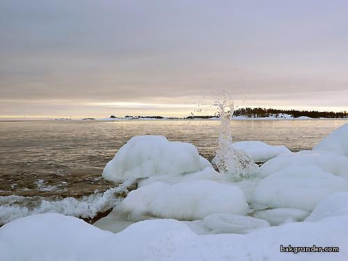 Vinterbild Ekön