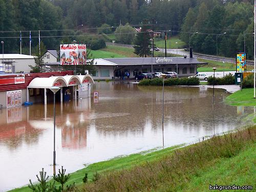 Översvämning 2006 Valdemarsvik