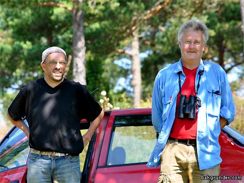 Sverker Hultengren och Thomas Liebig