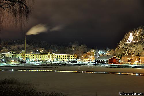 Valdemarsvik i vinterskrud