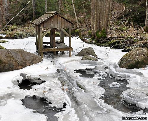 Vattenkvarn vattenmölla